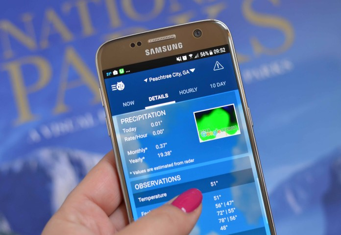 Weather app by WeatherBug
