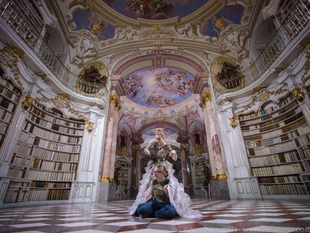 World's Largest Monastery Library