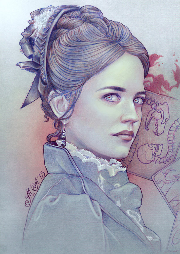 paintings of women Eva Green