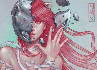 The Beauty of Female Figures in illustrationsby Spanish Illustrator Marta Adán (8)