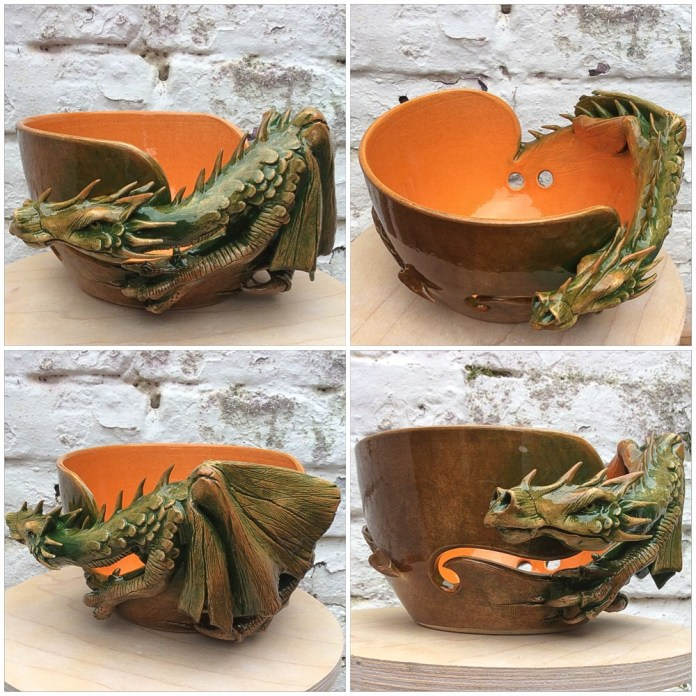 Yarn Bowl_dragon