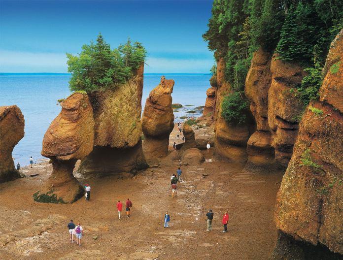 Bay of Fundy, Nova Scotia group travel insurance