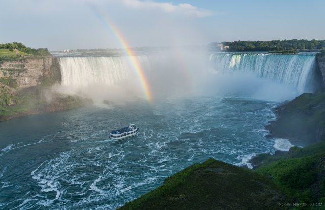 Niagara Fall Rainbow