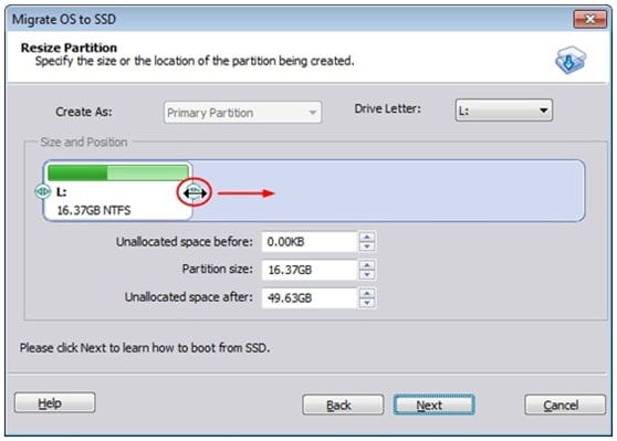 Free Transfer OS from HDD to SSD with AOMEI Partition Assistant 6.3_4
