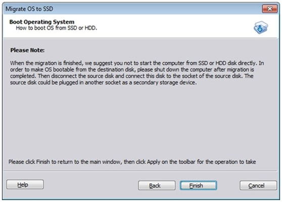 Free Transfer OS from HDD to SSD with AOMEI Partition Assistant 6.3_6