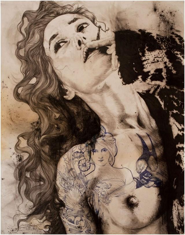 women images by Gabriel Moreno.