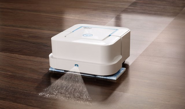 A mopping robot