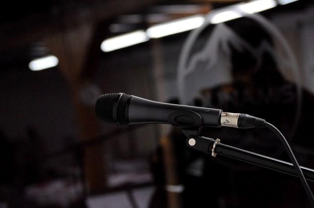 tech to ensure a good vocal recording