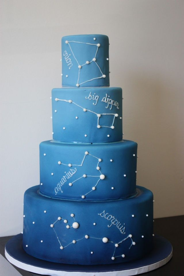 night sky cake ideas
