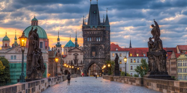 Prague -Charles Bridge morning