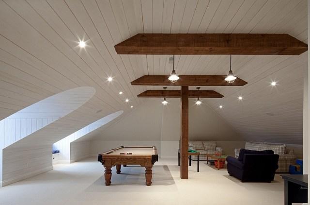Gorgeous-attic-game-room