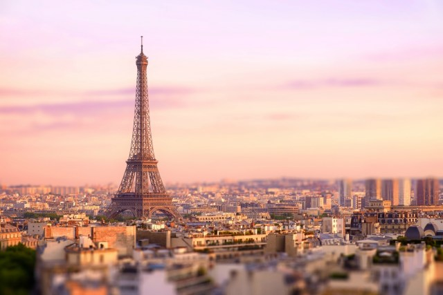 Paris. The City of Lovers.