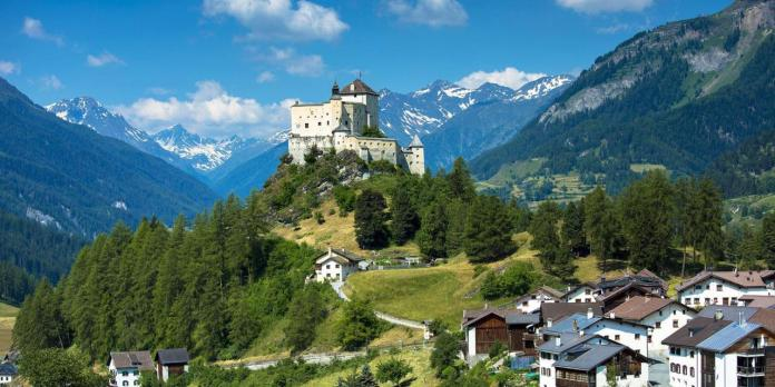 Switzerland_ world leader in eco-tourism.