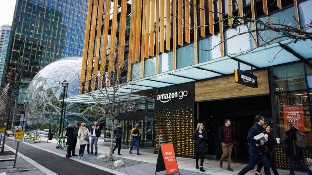 amazon-go- Seattle