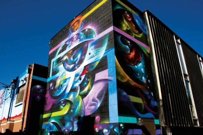 best attractions in Denver Art at a First Friday Art Walk