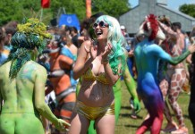 Fremont Solstice Parade Seattle Celebrates Summer with a Naked Bike Ride!