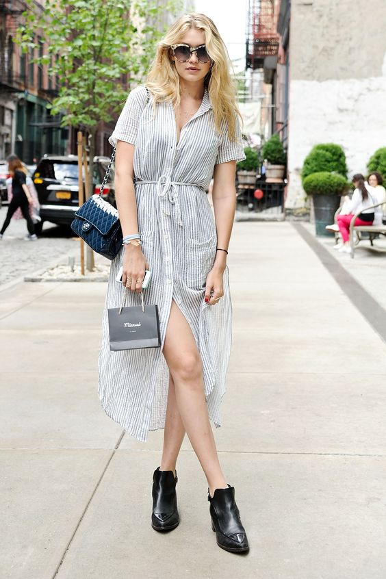 Gigi Hadid's staple summer look