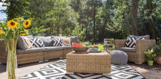 Outdoor relax in luxurious style