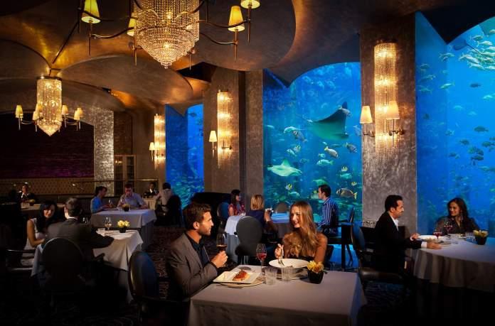 Ossiano Seafood Restaurant in Dubai