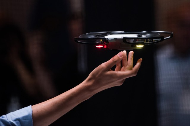 drones are able to be controlled through a mobile device,