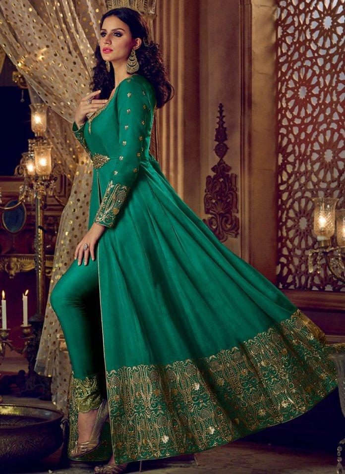 Anarkali Suits - Different Fabrics