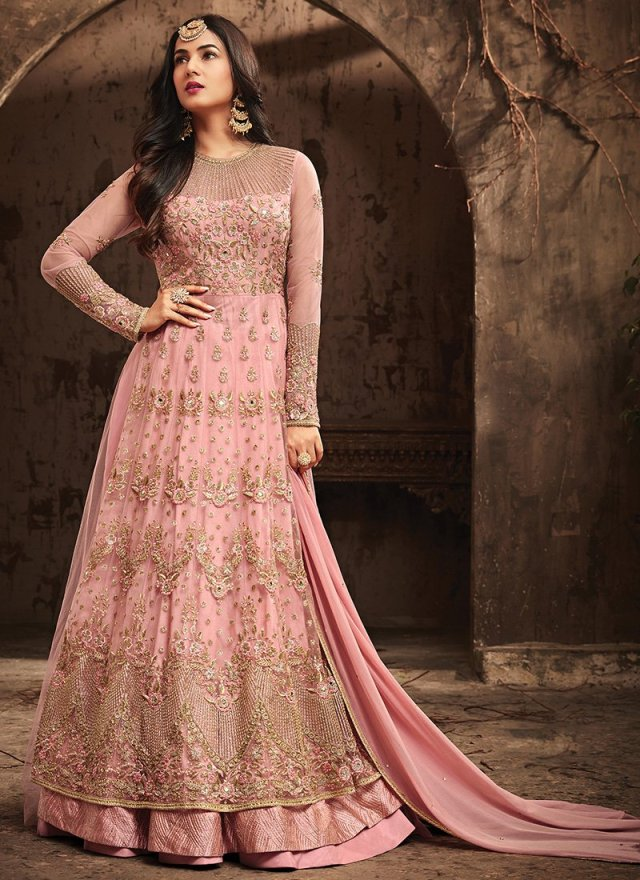 Jacket Style latest Anarkali suits