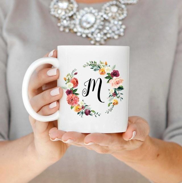 Initialed Mug