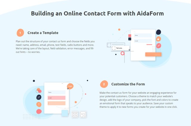 AidaForm online form builder_1