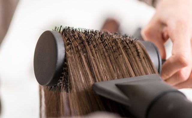 drying-hair