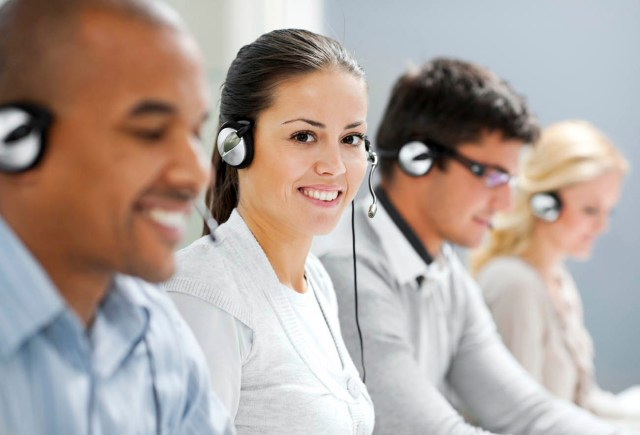 Internet-based small business answering services