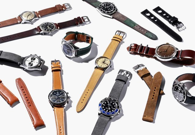 Multitude of Watch Strap Types