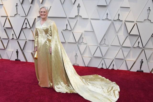 Red CarpetOscars 2019 (Glenn Close.