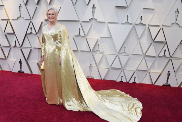 Red Carpet Oscars 2019 (Glenn Close.