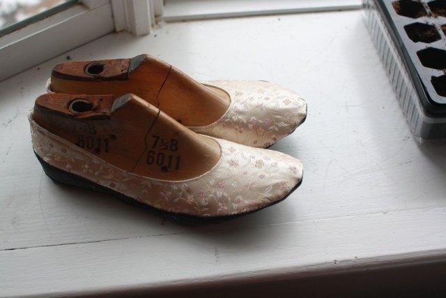 Silk Slippers