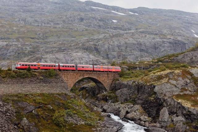 Oslo Bergen Railway