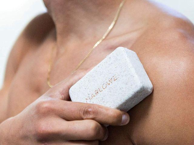 getting a men's soap