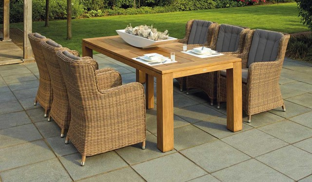 outdoor space with the best outdoor rugs.