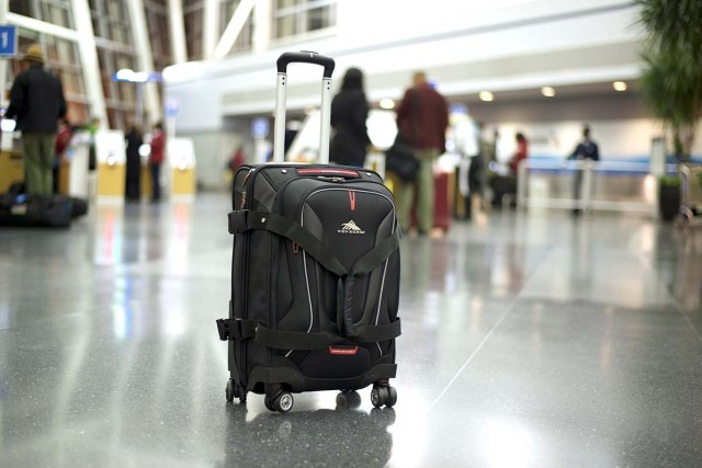 High Sierra AT7 Carry-On Wheeled Duffle