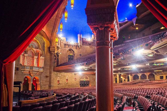 Fox Theatre - a former movie palace