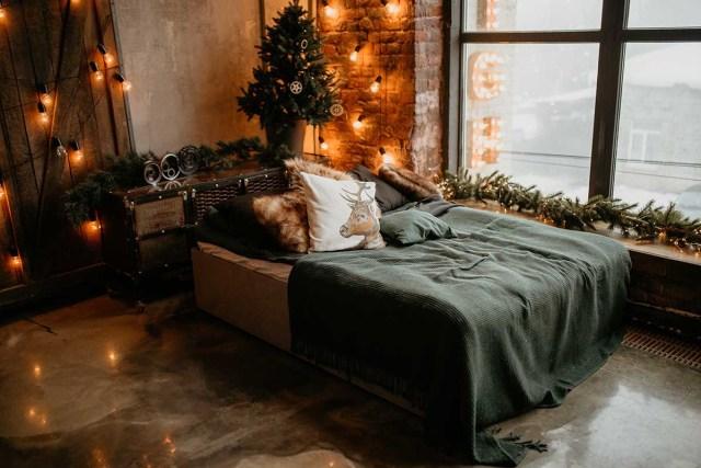 living room christmas decor ideas