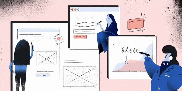 UX/UI Trends for 2020 writing