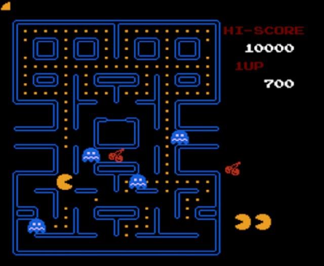 Pacman_Old School Game