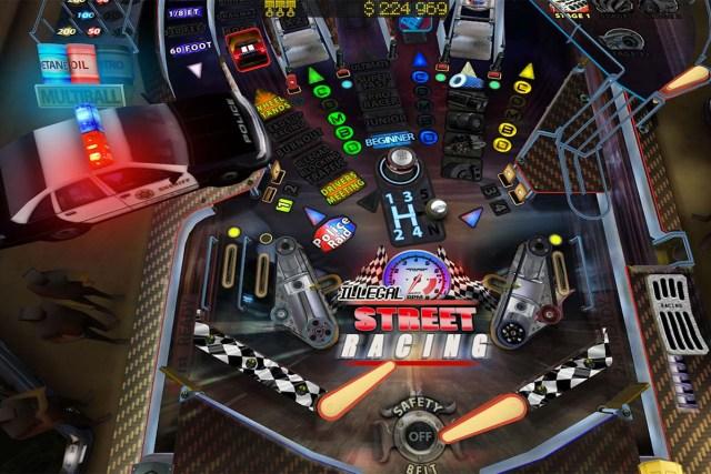play virtual pinball