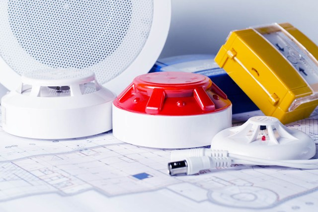 testing the batteries in your smoke alarms.