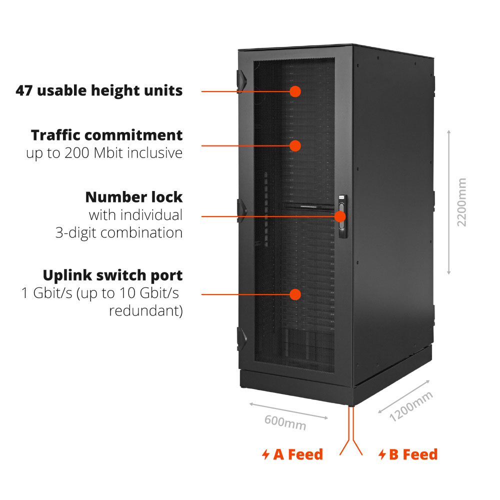 reliable and secure server housing