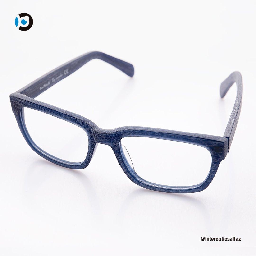 Gafas graduadas - Gris con textura madera