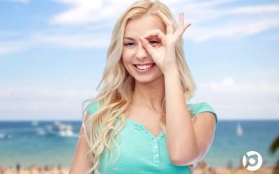 El cuidado de las lentillas durante el verano