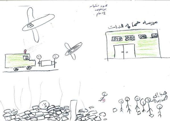 Mahmoud, Aged 12