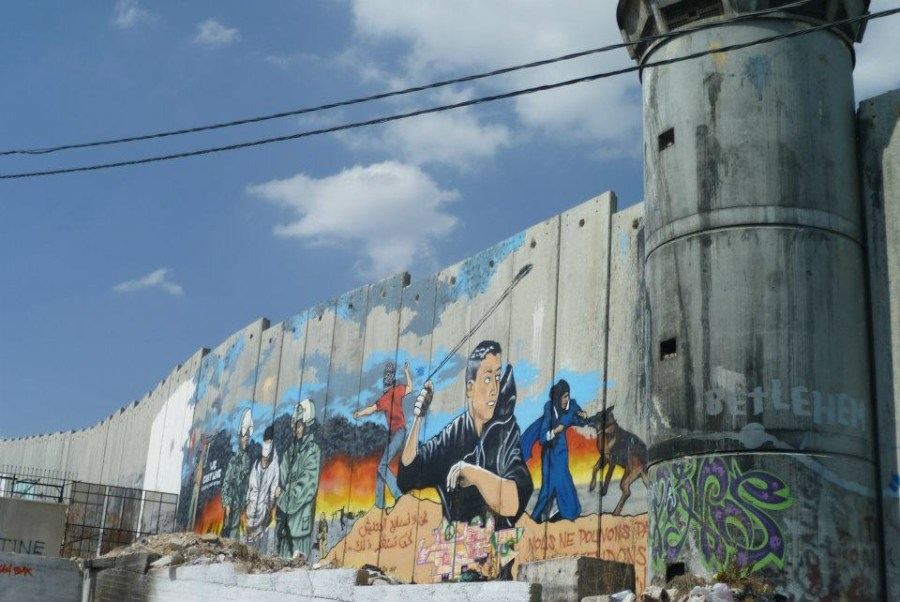 Aida Refugee Camp, Palestine