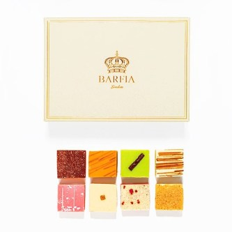 Indian Barfia Sweets, part of Mubarak London's luxury hampers